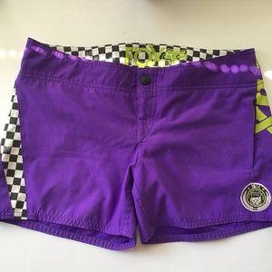 FOX racing shorts size 5